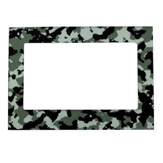 military green camouflage pattern magnetic photo frame - Military Frames