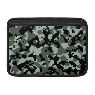 Military Green Camouflage Pattern Sleeves For MacBook Air