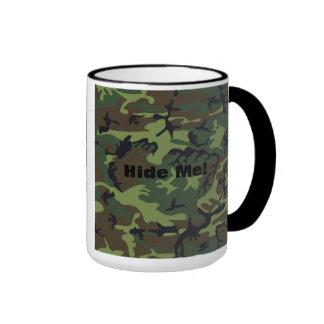 Military Green Camouflage Ringer Coffee Mug