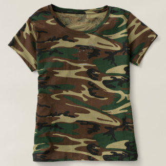Military Green Ghost Tee