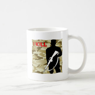 Military Grunt I Kill Coffee Mug