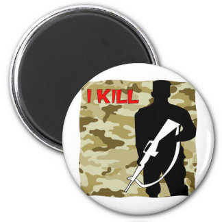 Military Grunt I Kill Magnet