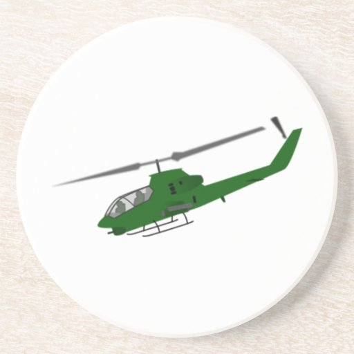 Military Helicopter Coasters
