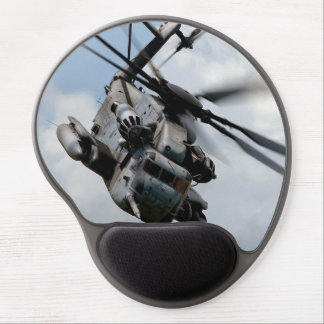 Military helicopter gel mouse pad