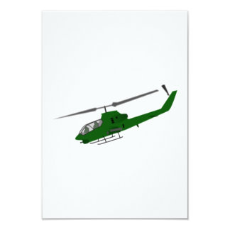 Military Helicopter Invitations