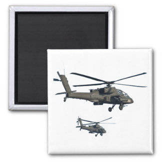 Military Helicopter Magnet