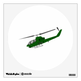 Military Helicopter Wall Decals