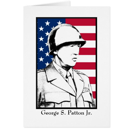 Military Hero - General Patton Cards