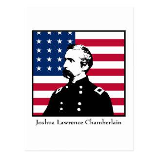 Military Hero - J.L. Chamberlain Postcard