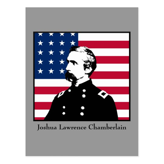 Military Hero - J.L. Chamberlain Postcard