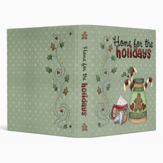 """Military Home for the Holidays 1"""" (Recipe Binder) Binder"""