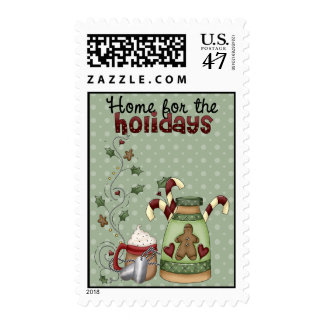 Military Home for the Holidays Postage