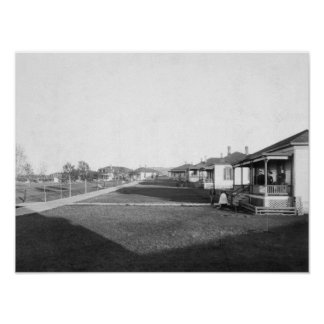 Military Homes in Residential Area of Fort Meade Posters