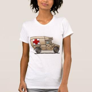 Military Hummer Ambulance Girls T-Shirt