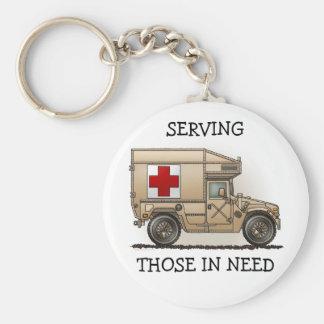 Military Hummer Ambulance Key Chain