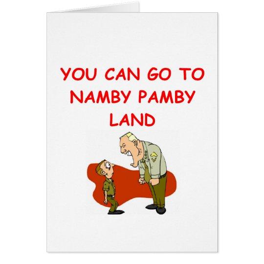 military humor card