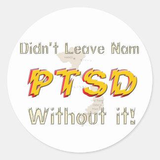 Military Humorous PTSD Stickers