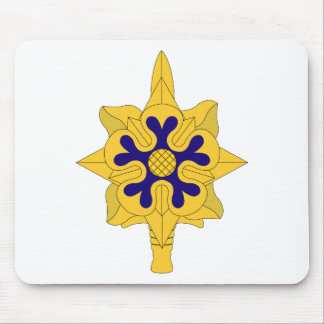 Military Intelligence Insignia Mouse Pad