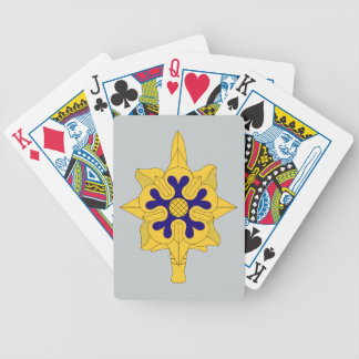 Military Intelligence Insignia Bicycle Playing Cards