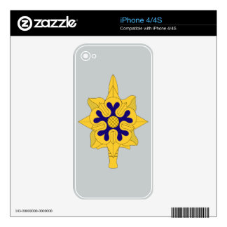 Military Intelligence Insignia Decal For The iPhone 4