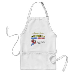 Military Intelligence Jumbo Shrimp Oxymoron Adult Apron