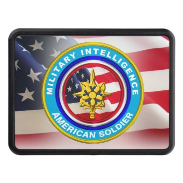 Military Intelligence Veteran Keepsake Hitch Cover