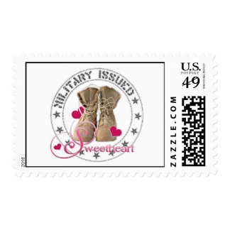 Military Issued Sweetheart Stamp