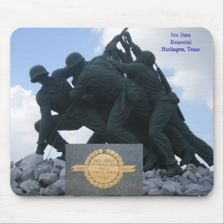 Military - Iwo Jima Memorial Mouse Pad
