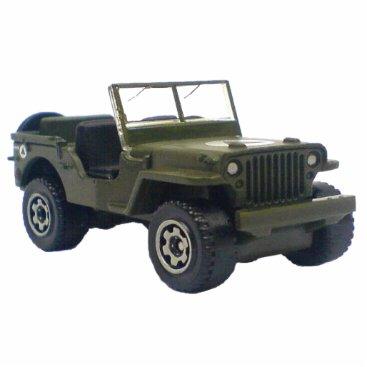 Military Jeep Ornament