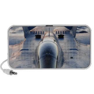 Military jet iPod speakers