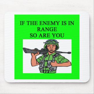 military joke mousepads
