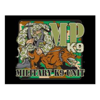 Military K9 Unit Postcards