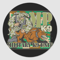 Military K9 Unit Sticker