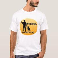 Military K9 Unit T-Shirt