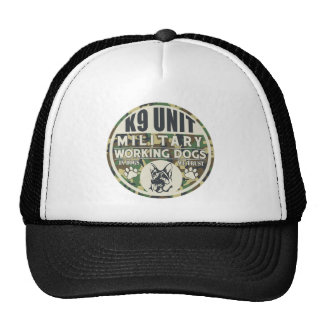 Military K9 Unit Working Dogs Trucker Hat