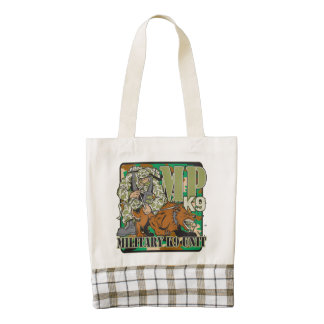 Military K9 Unit Zazzle HEART Tote Bag