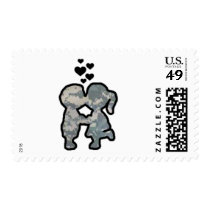 Military Kisses Postage