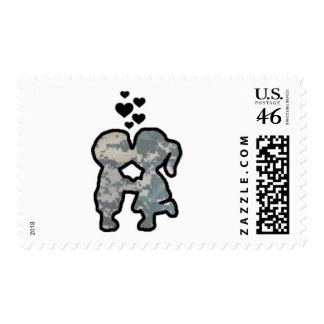 Military Kisses Stamps