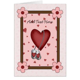 Military Love Card