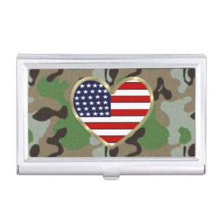 Military Love Case For Business Cards
