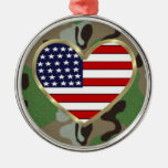 Military Love Christmas Ornaments
