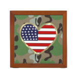 Military Love Desk Organizer