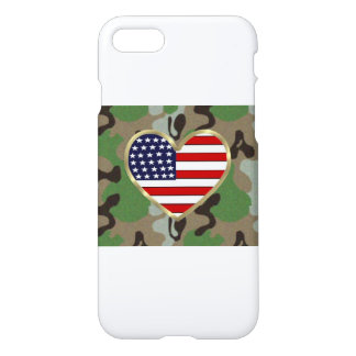 Military Love iPhone 7 Case