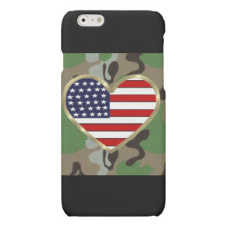 Military Love Matte iPhone 6 Case