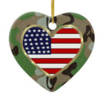 Military Love Holiday Ornaments