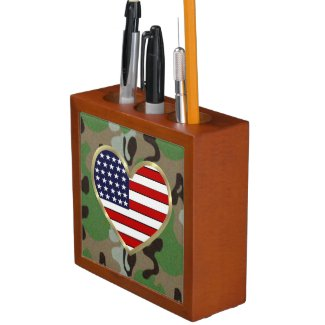 Military Love Pencil Holder