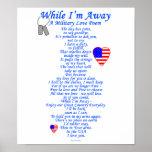 Military Love Poem Poster