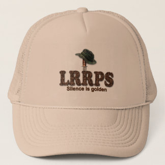 Military LRRP LRRPS Recon Snipers Army Marines Trucker Hat