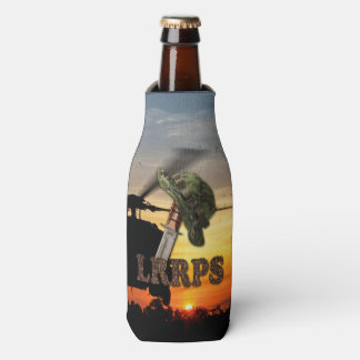 Military LRRPS Air Force Recon Army Marines Navy Bottle Cooler