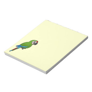 Military Macaw Memo Note Pads